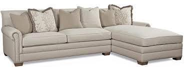 huntington house 7107 traditional sectional sofa with nailhead