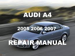 audi a4 2005 2006 2007 repair manual youtube