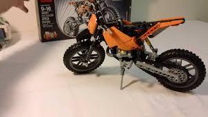 model motocross bikes lego technic 42007 motocross bike modified youtube