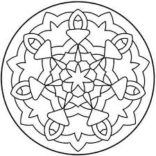 8 best images of free printable mandalas for adults flower