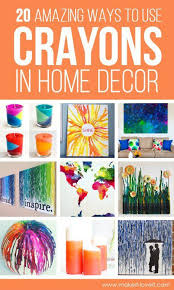 Diy Home Decor Craft Ideas 674 Best Home Decor Crafts Images On Pinterest Decor Crafts