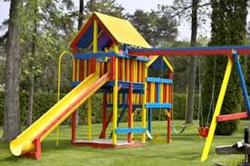 Metal Backyard Playsets by What Are The Best Outdoor Playsets Made Of
