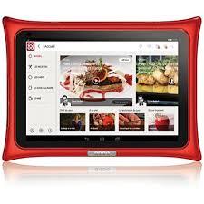 tablette de cuisine qooq tablette android qooq v4 boulanger