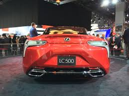 lexus 2017 lc500 2016 detroit 2017 lexus lc 500 brings in new era for brand