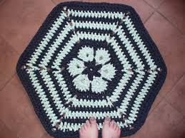 Home Decor Made From Recycled Materials by African Flower Crochet Rug Crochet Rug Doily Rug Handmade