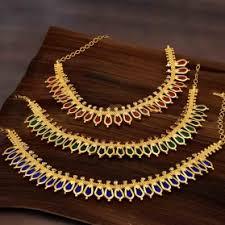 buy one gram gold premium designer jewellery kollam supreme