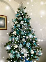 teal tree decorations teal