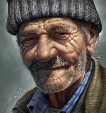 old man an old man drawing digital paint by judyar on deviantart