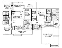 traditional style house plan 3 beds 3 50 baths 2218 sq ft plan