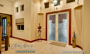 Etched Glass Exterior Doors Etched Glass Front Doors Sans Soucie Glass