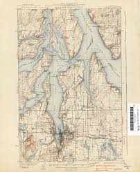 Tacoma Washington Map by