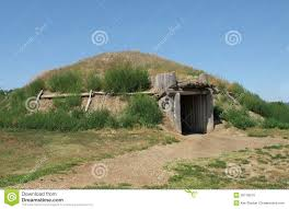 house plains american plains indian earth house stock image image of native