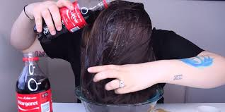 coke hair rinse what happens when you wash your hair with coca cola the results