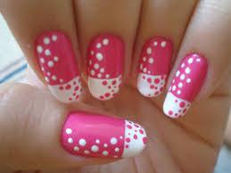 14 pink polka dot nail designs images nail art design with dots
