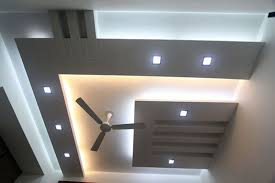 top false ceiling lighting with wooden design kolkata west bengal