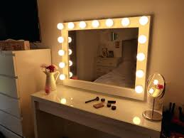 Glass Makeup Vanity Table Mirror Makeup Spressional Lights Ikea 3 Vanity Lighted Table