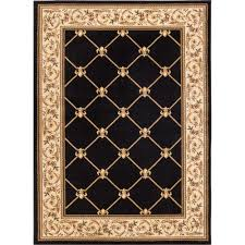 2 X 12 Runner Rug Home Decorators Collection Meadow Damask Neutral 9 Ft 6 In X 12