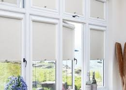 Hurst Blinds Perfect Fit Roller Blinds For French Doors
