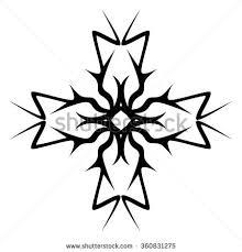 tribal tattoo stock vector 167902661 shutterstock