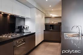 sheen kitchen design polytec melamine truffle lini matt and createc ultra white kitchen