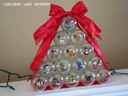 Christmas Ornament With Photo Cupcake With Sprinkles Baby Food Jar Christmas Tree