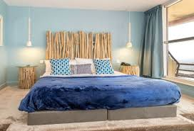 le pour chambre tête de lit bois flotté pour une chambre d ambiance naturelle