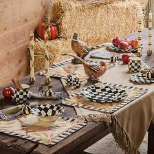 how to set a table with napkin rings mackenzie childs courtly stripe pumpkin napkin rings set of 4