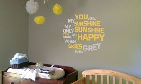 you are my sunshine wall decal roselawnlutheran