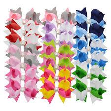 3 grosgrain ribbon 3 grosgrain ribbon rhinestone bows hair hair pin