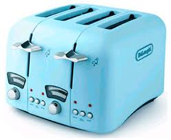 Toasters Delonghi 4 Slice Toaster Classic Blu From Delonghi