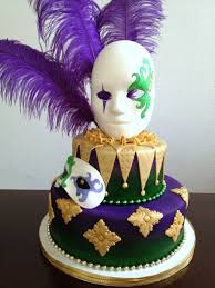 large mardi gras mask mardi gras special event cake cake made with marshmallow fondant