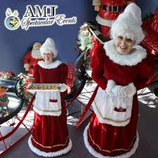mrs claus costumes rent mrs claus costume in chicago il mrs claus costume rental