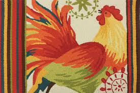 Rooster Area Rug Spiced Rooster Multi Area Rug Products Pinterest