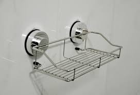 Bathroom Suction Shelves Genexice Stainless Steel Shower Caddy With Rotate
