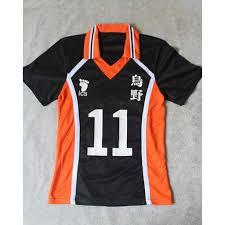 Hinata Halloween Costume Haikyuu Karasuno Uniform Jersey Karasuno Volleyball