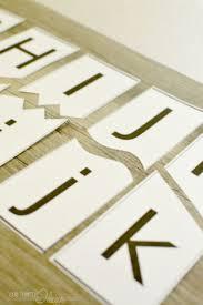 printable alphabet letter cards 220 best free alphabet printables images on pinterest letters