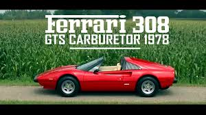 ferrari 308 gts carburetor 1978 full test drive in top gear v8