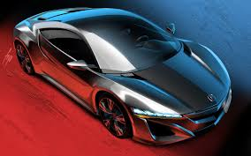 accurate execution sketches of 2015 acura nsx concept