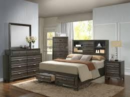 Storage Bed Sets King Lifestyle 5236 Antique Gray 6pc King Bedroom Set In Myrtle