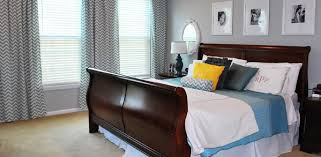 chevron bedroom curtains remodelaholic master bedroom surprise update before and after