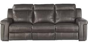Oxford Leather Sofa 1 199 99 Oxford Slate Gray Leather Sofa Classic