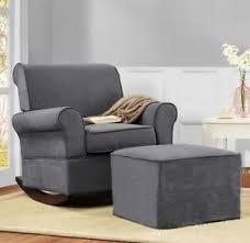 Rocking Chairs For Baby Nursery Gray Rocker Chairs Or Ottoman Rocking Chair Nursery Furniture