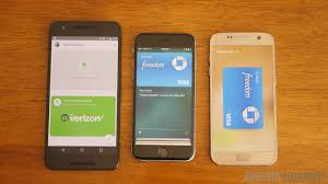 android pay vs apple u0026 samsung pay android authority