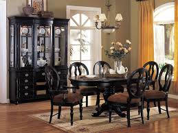 Gorgeous Dining Room Table Black Black Dining Room Set Black Wood - Black wood dining room set