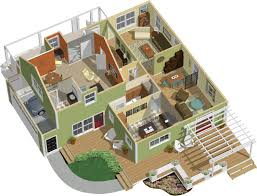 home architecture plans 3d floor plan design 1 enpress chief architect
