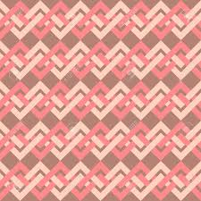 seamless pattern of interlacing lines in retro style can be