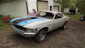 70 mustang fastback for sale 1970 ford mustang sportsroof fastback project car includes