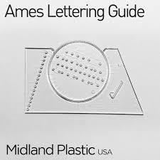 thước kẻ dòng viết chữ ames lettering guide u2013 taipoz