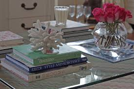 square tray for coffee table the long and short of it coffee table styling books trays