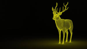 Back Light Definition Wallpaper Deer Abstraction Backlight Hd Widescreen High
